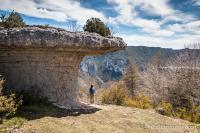 Curiosité géologique au dessus des gorges du Tarn