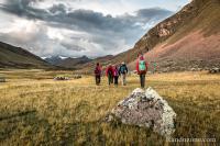 Nous arrivons au refuge de Chillca