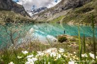 Pic de Tentes et lac des Gloriettes