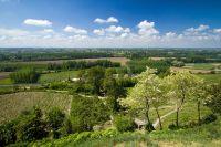 Activités outdoor : Randonn�e p�destre : Tour de Sainte Croix du Mont en Gironde