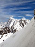 Activités outdoor : L'Aiguille du Midi: mont�e en t�l�ph�rique