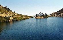 Le calme du lac de Bastampe