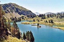 Lac de Bastan (lac du milieu)