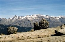Monte Cinto depuis le lac de Nino