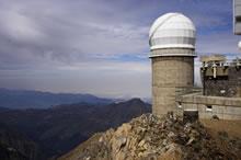 Une des coupoles du pic du Midi de Bigorre
