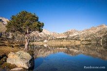 Randonnée aux lacs d'Aumar et d'Aubert
