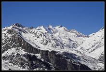 Glacier d'Ossoue depuis les Espuguettes