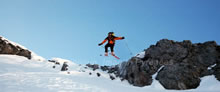 Fantaisie de skieur