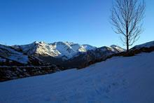 Randonnée en raquettes à neige au Pourteillou - 1