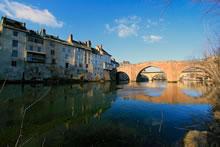 Vieux pont d'Espalion en Aveyron