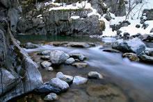 Cours d'eau à Coumely dans les Pyrénées