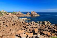 Sentier des Douaniers sur la Côte de Granit Rose