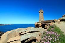 Circuit du sentier des Douaniers sur la côte de Granit Rose