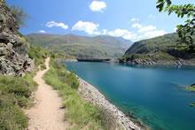 Lac et barrage des Gloriettes