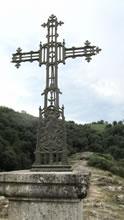 Croix au village de Bez Bédène