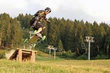 Du mountainboard en Belledonne