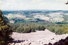 La coulée de lave Bourianne