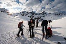 Sortie igloo dans les Pyrénées : deuxième jour