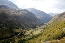 Vallée de Héas durant la montée