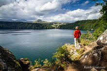 Balade au lac Pavin en Auvergne