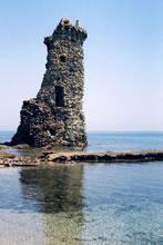 Tour Santa Maria sur le Cap Corse
