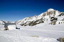 Randonnée hivernale à la cabane d'Aygues-Cluses