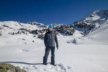 Test de la doudoune Cimalp dans les Pyrénées