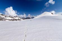 Pic de Tentes sous la neige