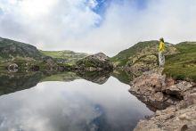 Lacs des Aires depuis Héas