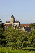 Le village de St Robert et ses toitures d'ardoise