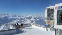 Au sommet du Pic du Midi de Bigorre