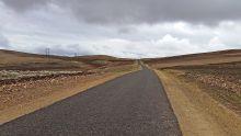 Route qui mène à Imlil