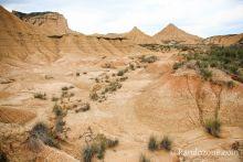Couleurs du désert des Bardenas