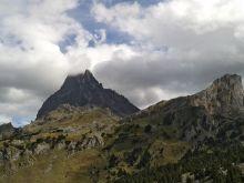 Vue sur le Pic du Midi d'Ossau