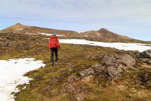 Randonnée face au Snæfellsjökull