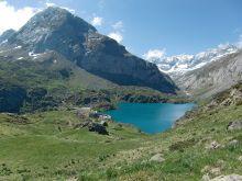 Lac des Gloriettes et barrage