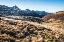 Randonnée au milieu des volcans du Cantal