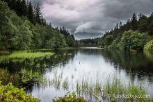 Randonnée sous la pluie à Glencoe Lochan