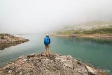 Nous faisons le tour du lac d'Ossoue