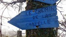 Le chemin de la chapelle