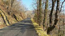La route que l'on suit durant plusieurs kilomètres