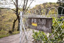 Départ de la randonnée de la Montagne de Jean Frond