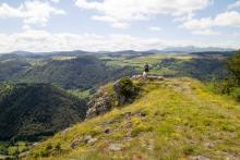 Randonnée à la Roche Nité sur le plateau de la Chavade