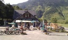 VTT entre Luz-Saint-Sauveur et Chez Louisette