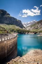 Nous repassons au barrage des Gloriettes