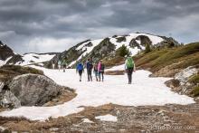 Activités outdoor sur la station des Arcs dans les Alpes
