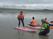 Initiation au surf à Audierne