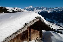 Col des Saisies, Mont Blanc