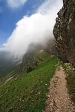 Randonnée au Pas de la Balme dans le brouillard