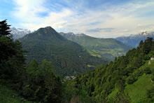 Beau point de vue sur la vallée de Barèges